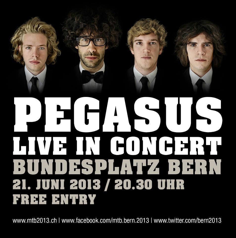 Pegasus @ Bundesplatz Bern