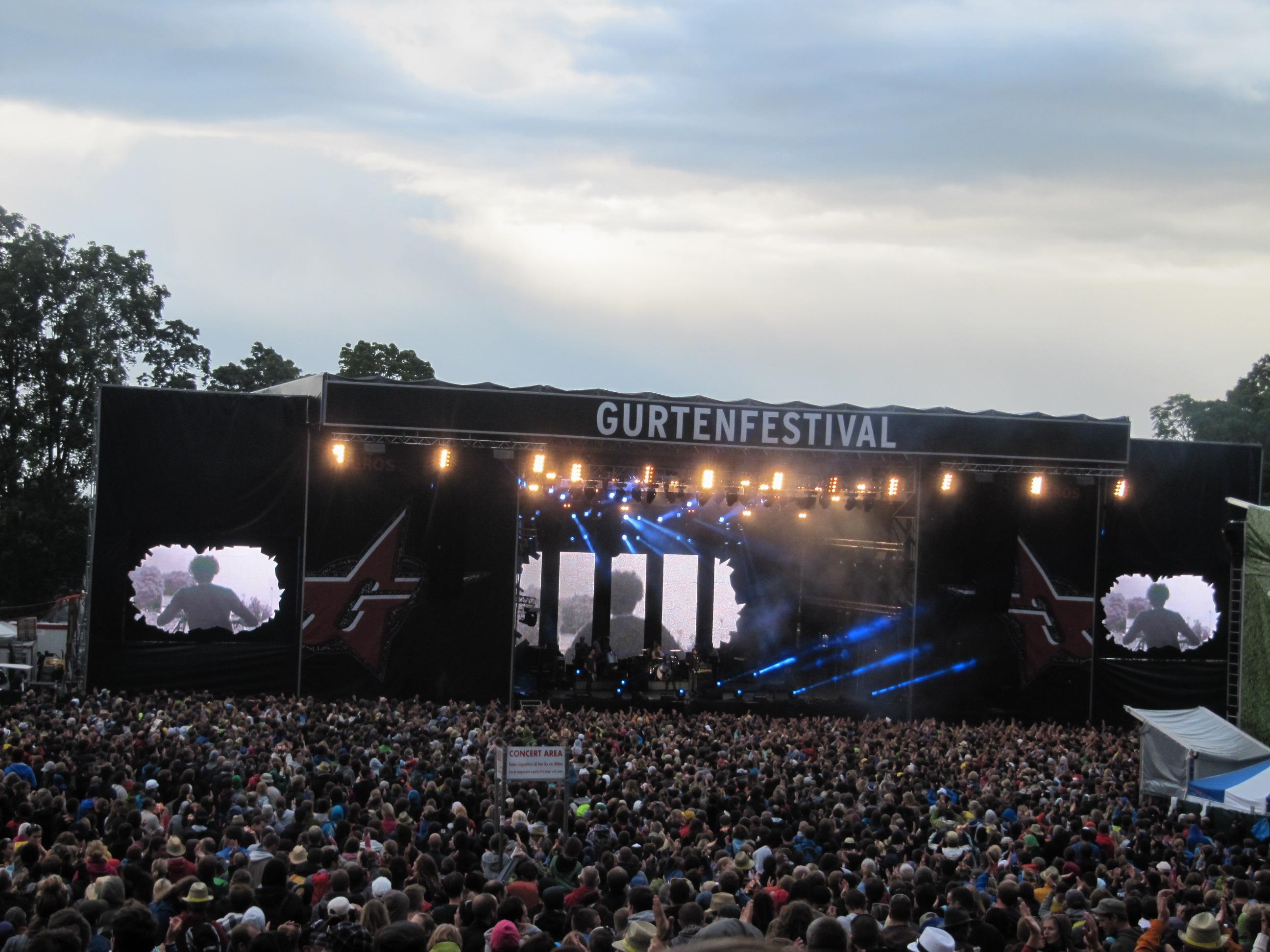 Gurtenfestival 2012