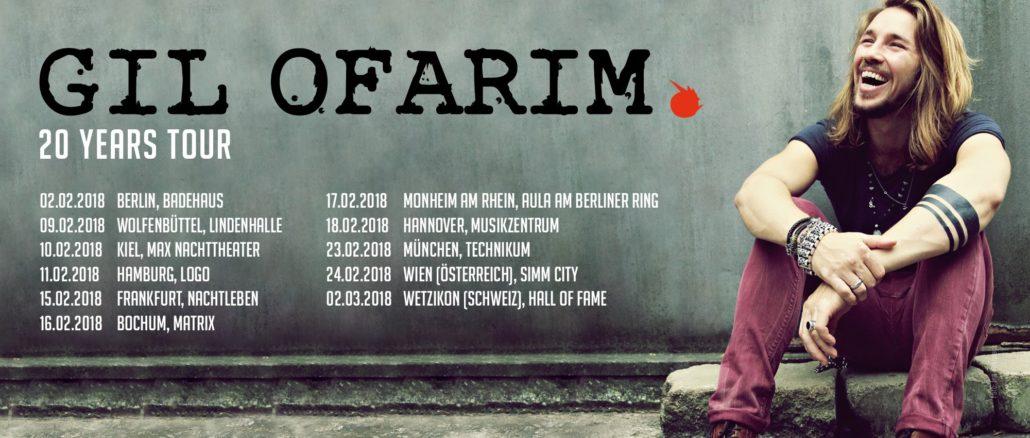 Gil Ofarim 20 Years Tour